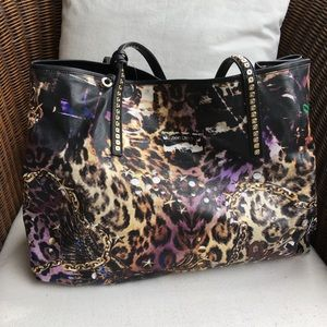 Jimmy Choo Cheetah Icon Tote